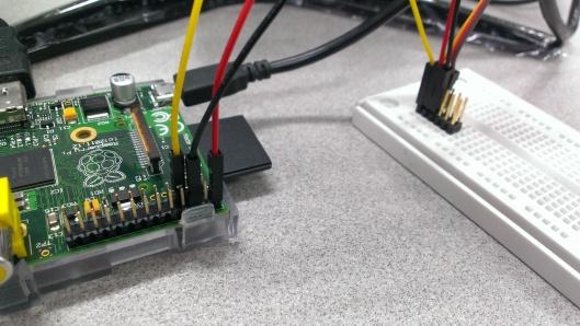 Raspberry Pi GPIO connection