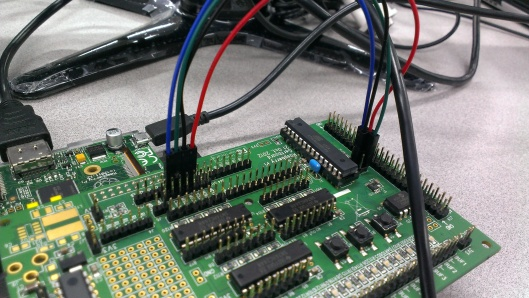 Wires connection for avrsetup