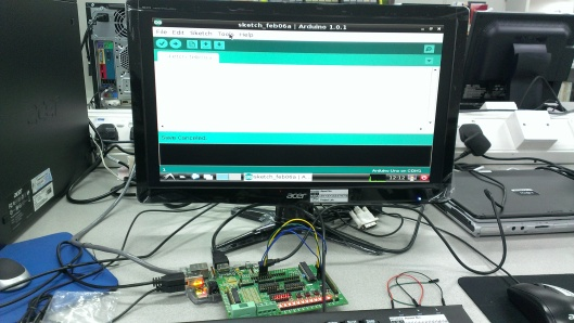 Arduino IDE on Raspberry Pi