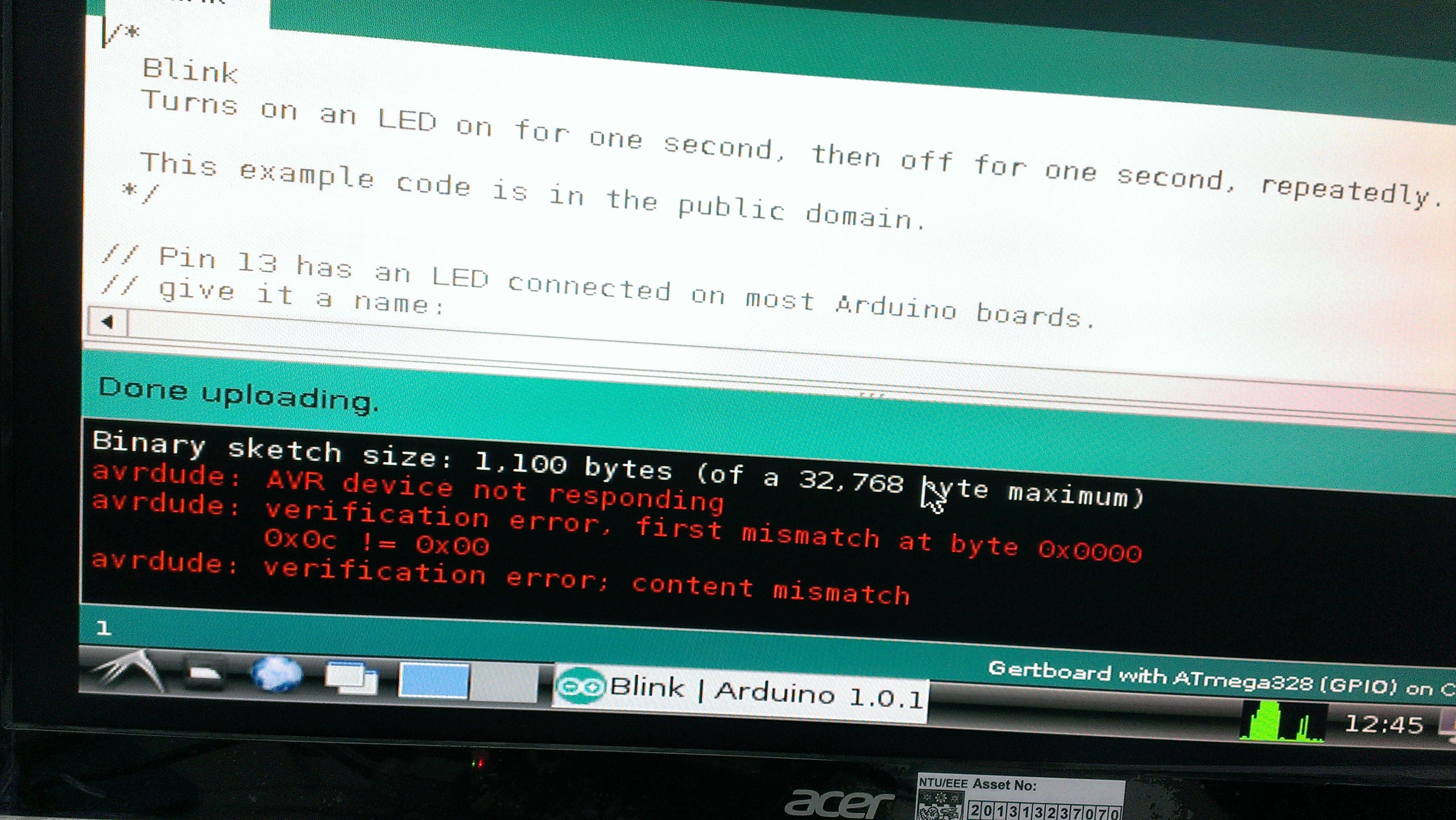 Unable to upload arduino sketch raspberry pi forums