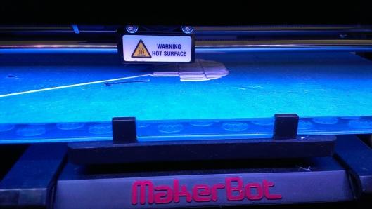 Printing the base